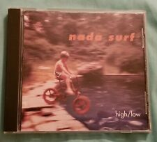 """Nada Surf """"High/Low"""" Pre Owned CD"""