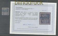 Bremen Mi # 11 gestempelt Fotobefund Heitmann BPP (42904)