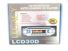 Legacy #LCD30D New In Box Car Audio Stereo AM FM Receiver CD Player In Dash