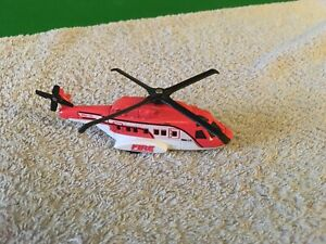 Matchbox 68982 Mission Chopper Helicopter - Fire Rescue