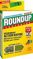 Désherbant Polyvalent Rapide -Tubes Pré-dosés X 3- Roundup - Formule Biocontrôle