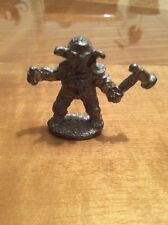 Vintage Pewter Killer Clown Fighter Little Figurine Statue