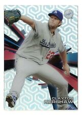 2015 Topps High Tek Chain Link Pattern Clayton Kershaw Los Angeles Dodgers