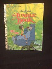 """Walt Disney's """"The Jungle Book """"Little Golden Book, 1967, Mowgli Rudyard Kipling"""