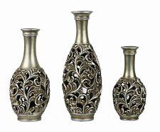 D'Lusso Designs SV15 Lucrezia Collection Three Vase Set -