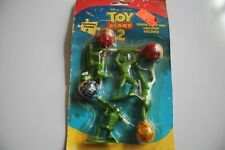 TOY STORY 2 GREEN ARMY MEN LOLLIPOP HOLDERS  DAMAGED PACKAGE 1999