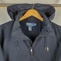 POLO RALPH LAUREN Large Mens Fleece Lined Softshell Black Trucker Jacket $195