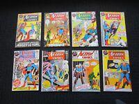 Action Comics lot - 1971 #401 to #450 complete run - highgrade & Adams art