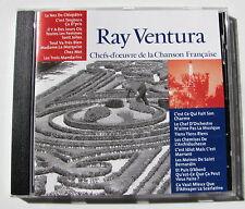 RAY VENTURA . Chefs-D'Oeuvre De La Chanson Française  . CD CF014