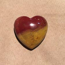 Mookaite Jasper Puffy Heart