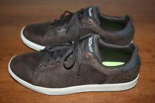 Sketchers On The Go Cushioning Shoes Sneaker Men's  Size 10.5 Leather Brown !!!!