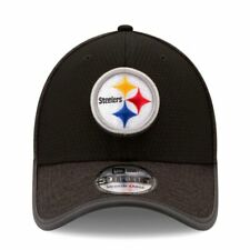 Era Pittsburgh Steelers Black 2017 Training Camp Official 39thirty Flex Hat