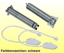 2 x Türfeder + Seilzug Reparatursatz 754869 Geschirrspüler Bosch Siemens Neff