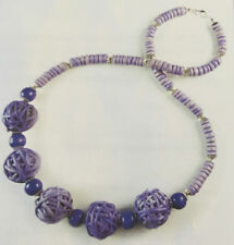 Jilly Beads Violette Beach Babe Necklace Jewelry Making Kit Purple