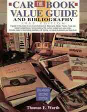 CAR BOOK VALUE GUIDE AND BIBLIOGRAPHY: 1993 EDITION