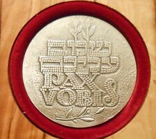 1993 ISRAEL PAX VOBIS  THE RELATION BETWEEN ISRAEL AND THE HOLY SEE SILVER MEDAL