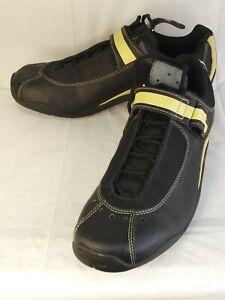 Specialized 6125 Sonoma Women US10.5 EU42 Bicycle Shoe Black Leather Lace 383