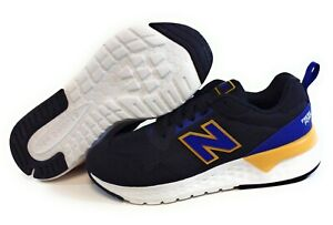 Kids Youth Boys New Balance 515 RA2 Black Blue Sneakers Shoes SS Sample Sz 13