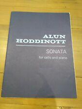 Sonata for Cello and Piano,  Alun Hoddinott