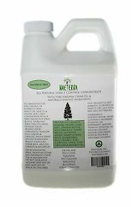 1/2 Gallon  Cedar Oil Concentrate Natural Insect Household Remedy