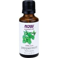 NOW Foods Peppermint Oil, 1 oz Bottle For Burners & Diffusers Mentha piperita