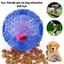 Dog Food Ball Pet Iq Treat Feeder Chew Toy Puppy Training Dispenser Blue