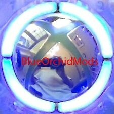 XBOX 360 Ring of Light MOD KIT ROL 4 BLUE LED  FREE S&H