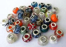 *ON SALE* Lot of 50 Random Assorted European Beads Charms for Bracelet