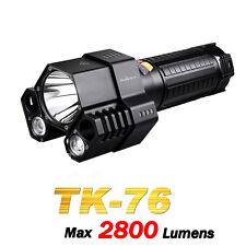 Fenix TK76 Cree XM-L2 U2x2+XM-L2 T6 Neutral White LED 2800lms Flashlight Torch