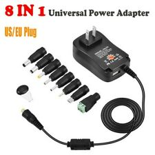 Adapter Kit 8 In 1 Power Supply Adapter Acdc 3v To 12v Reliable Duable