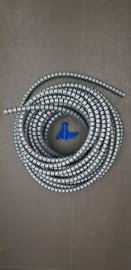 25m HellermannTyton Spiralschlauch silber/grau, Art. 161-64203