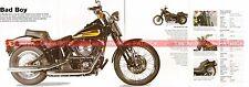 HARLEY DAVIDSON FXSTSB 1340 Bad Boy 1996 Fiche Moto 000509
