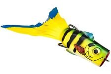 Strike King Topwater Popping Perch Hollow Body PPKVD-680 Yellow Perch Lure