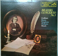 RCA LM 2274 *SHADED DOG 1S/1S* BRAHMS PIANO CONCERTO #1 *GRAFFMAN MUNCH* EX+/NM