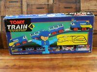 Vintage Tomy Train 4 Inter City Large Track Set - 1989