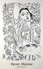 "Henri Matisse ""Arabasque"" Galerie Maeght Lithgraph"