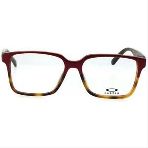 Oakley Confession OX1128 0352 Magenta Tortoise Eyeglasses OX1128-0352 52-15-142