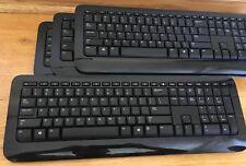Lot of Four Microsoft Wireless Keyboard 800 Black WUG1008/KGR1008