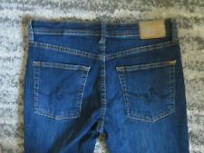 Girls AG Adriano Goldschmied THE STEVIE slim straight jeans size 16