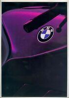 BMW Motorräder 1990 Prospekt 9/89 brochure Broschüre Motorrad broschyr brosjyre