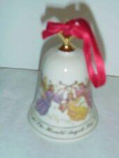 1995 Lenox Musical Bell Ornament Hark The Herald Angels Sing w/box