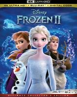 Frozen 2 II (4K UHD Blu-ray with Slipcover) No Digital 2019