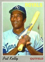 Custom made Topps 1970 Kansas City Royals Pat Kelly  Baseball card