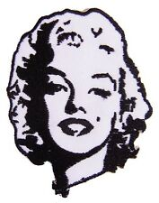 New Marilyn Monroe embroidered iron on patch. (i100)