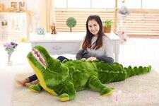 70.5' Jumbo Crocodile Stuffed Animals Plush Toy  Doll Throw Pillow Gift
