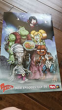 2017 SDCC COMIC CON EXCLUSIVE FOX TBS POSTER AMERICAN DAD ROGER STAN SMITH KLAUS
