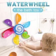 Baby Bath Water Windmill Toy Mini Turn Music Bathtub Swimming Pool Game Toy PF