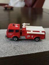 Matchbox Lesney England Fire Engine Pumper p1 Truck  Los Angeles