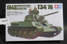 TAMIYA NOS SEALED 1943 T34/76 RUSSIAN TANK 1/35 KIT 400