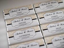 Wedding Personalised Chocolate Engagement Party Favour MUST ORDER 20 OR MORE